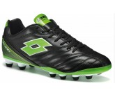 Бутсы Lotto STADIO 300 FG (S3955) BLACK/MINT FLUO