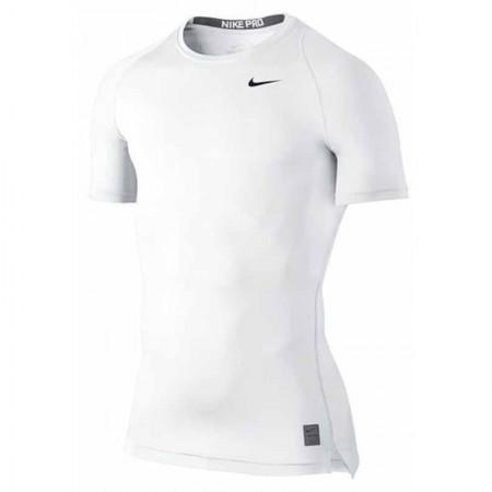 Акция!!! Термофутболка  и шорты компрессионные Nike Pro Cool kit white