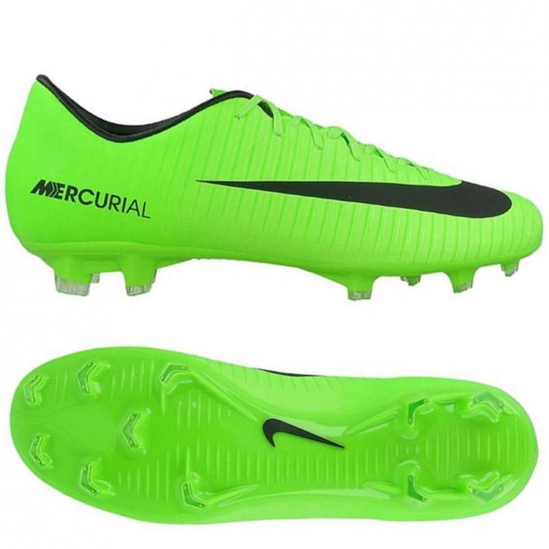 Продано! Бутсы Nike Mercurial Victory VI FG салатовые