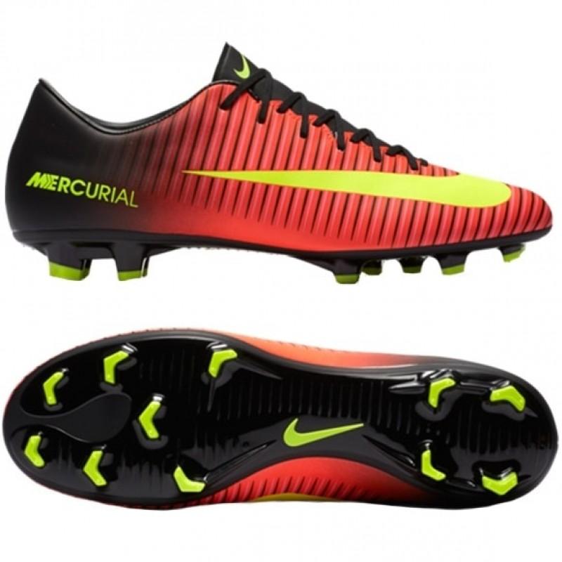 Продано! Бутсы Nike Mercurial Victory VI FG красные