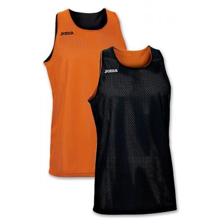 Майка баскетбольная Joma ARO 100050.800 черно-оранжевая