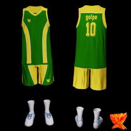 Баскетбольная форма swift 10 GOLPE