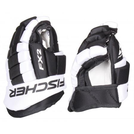 Рукавиці хокейні Fischer Hockey FX2 Gloves Black/White 12