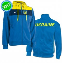 Акция! Женский костюм сборной Украины Joma JACKET WM CREW HOODED 900142.709,100248.30
