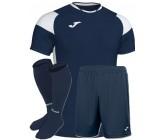Футбольная форма Joma CREW III 101269.332(футболка+шорты+гетры) сине-белая