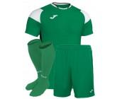 Футбольная форма Joma CREW III 101269.452(футболка+шорты+гетры) зеленая