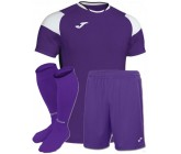 Футбольная форма Joma CREW III 101269.552(футболка+шорты+гетры) фиолетовая