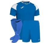 Футбольная форма Joma CREW III 101269.702(футболка+шорты+гетры) голубая