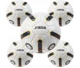 Футбольные мячи оптом Joma 400357.108 FIFA PRO FLAME II BLANCO-NEGRO, Размер 5, 5 штук