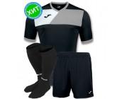 Детская футбольная форма Joma CREW II 100611.111(футболка+шорты+гетры)