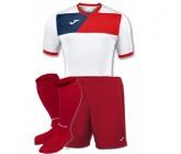 Детская футбольная форма Joma CREW II 100611.206(футболка+шорты+гетры)