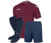Футбольная форма Joma Fit One(футболка+шорты+гетры) бордова FIT ONE 1199.98.008