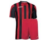 Футбольная форма Joma Copa(футболка+шорты) 100001.601 красно-черная