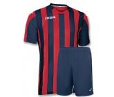 Футбольная форма Joma Copa(футболка+шорты) b100001.603 красно-синяя