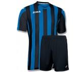 Футбольная форма Joma Copa(футболка+шорты) b100001.701 сине-черная