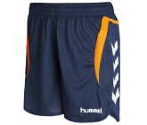 Шорты женские Hummel TEAM PLAYER WOMEN POLY SHORTS синие 010-935-7642