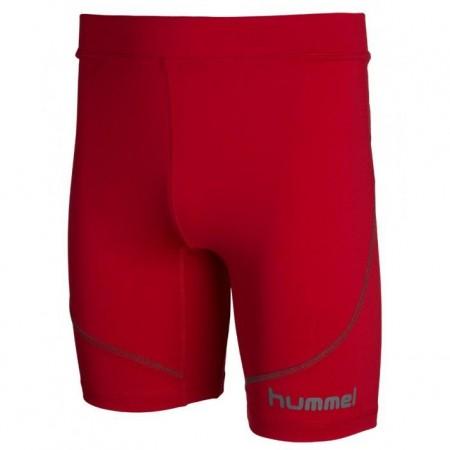 Компрессионные шорты HUMMEL UNDERLAYER TIGHTS красные 011-151-3062