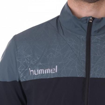 Ветровка мужская Hummel SIRIUS MICRO JACKET черно-серая 033-279-1078
