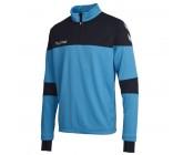 Олимпийка мужская Hummel SIRIUS HALF ZIP SWEAT синяя 033-281-8596