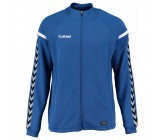 Ветровка Hummel Authentic Charge Poly Zip Jacket синяя 033-401-7045