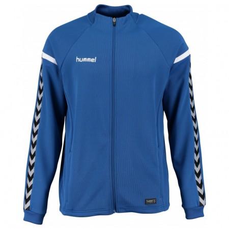 Ветровка Hummel Authentic Charge Poly Zip Jacket синяя 033-401-7045