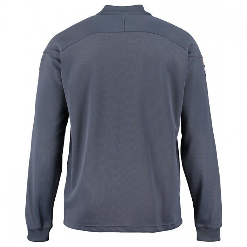 Ветровка Hummel Authentic Charge Poly Zip Jacket серая 033-401-8730
