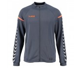 Ветровка Hummel Authentic Charge Poly Zip Jacket серая 033-401-8730