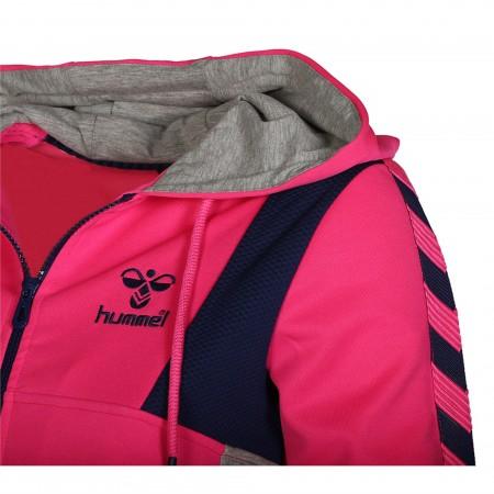 Ветровка Hummel Caitlyn Zip Hoodie розовая 033-495-3650