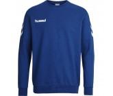 Кофта мужская Hummel CORE COTTON SWEAT синяя 036-894-7045