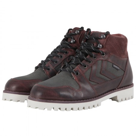 Ботинки Hummel NORDIC ROOTS HIKING бордовые 063-539-3668