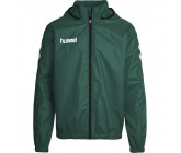 Ветровка Hummel CORE SPRAY JACKET зеленая 080-822-6140