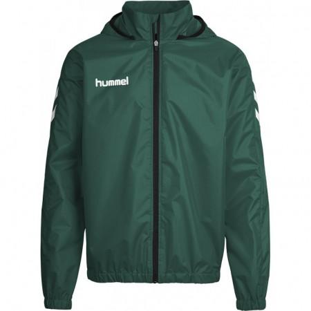 Ветровка детская Hummel CORE SPRAY JACKET зеленая 180-822-6140