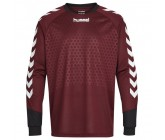 Вратарская кофта детская Hummel Essential Goalkeeper Jersey бордовая 104-087-4333