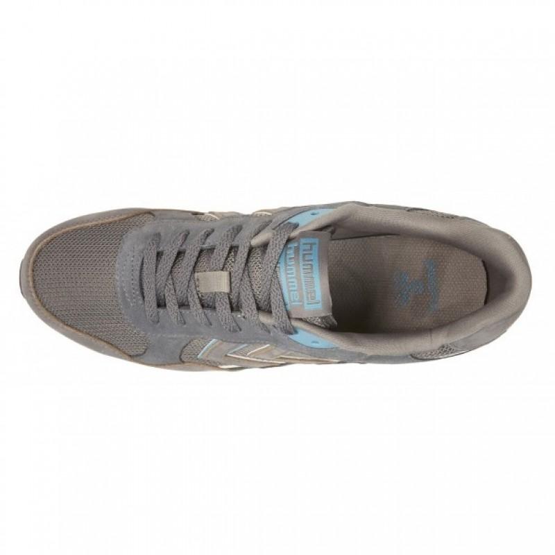 Кроссовки Hummel MARATHONA CLASSIC LOW серые 063-728-2600