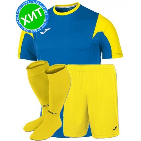 Футбольная форма Joma  ESTADIO(футболка+шорты+гетры) 100146.709-1