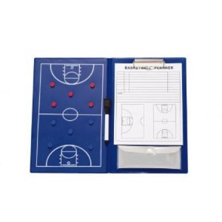 Папка для баскетбольного тренер Rucanor Coachingboard basketball