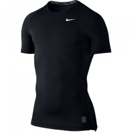 Термофутболка компрессионная Nike Pro Cool Compression Shirt 703094-100 черная