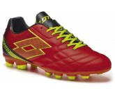 Бутсы Lotto SPIDER XII FGT (S1217) RED WARM/YELLOW SAFETY