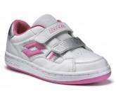 Детские кроссовки для тенниса lotto T-BASIC V CL S R5704