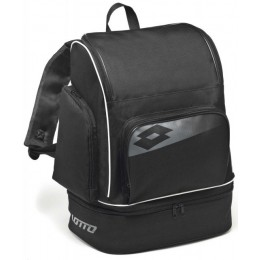 Рюкзак Lotto BACKPACK SOCCER OMEGA II (S3879) BLACK/GREY CEMENT