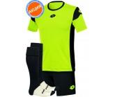 Акция! Комплект футбольной формы Lotto KIT STARS EVO(футболка+шорты+гетры) Green