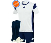 Акция! Комплект футбольной формы Lotto KIT STARS EVO (футболка+шорты+гетры)d-blue