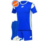 Акция! Комплект футбольной формы Lotto (футболка+шорты+гетры) lotto KIT STARS EVO в blue