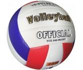 Мяч волейбольный Europaw soft touch бело-сине-красный 5