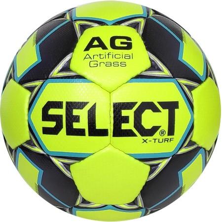 Футбольный мяч Select X-Turf размер 4 салатовый