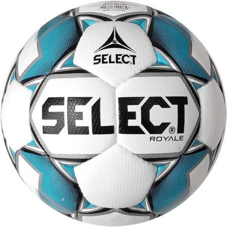 Футбольный мяч Select Royal IMS размер 5 бело-голубой