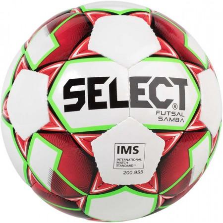 Футзальный мяч Select Futsal Samba бело-оранжевый
