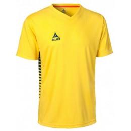 Футболка SELECT MEXICO SHIRT 621002 желтая