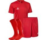 Комплект футбольной формы Select MEXICO (футболка+шорты+гетры) красный