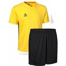 Футбольная форма Select MEXICO (футболка+шорты) желтая